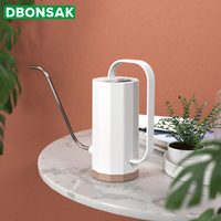 1.2L Stainless Steel Long Mouth Watering Can Garden Planting Sprinkler Pot Flowers Gardening Spray Tools Plastic Watering Kettle