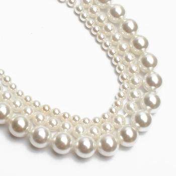 Natural White Pearl Loose Beads  1