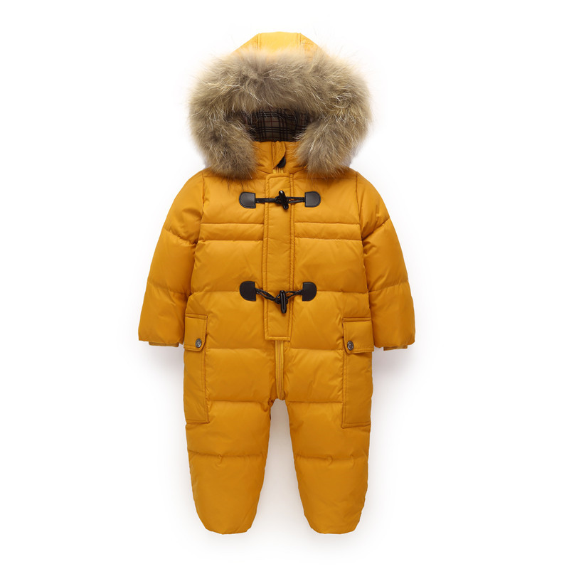 Clearance Sale Orangemom Winter Jacket For Girls Coats & Outwear  , 90% Duck Down Infant Baby Snowsuit , Baby Snow Wear