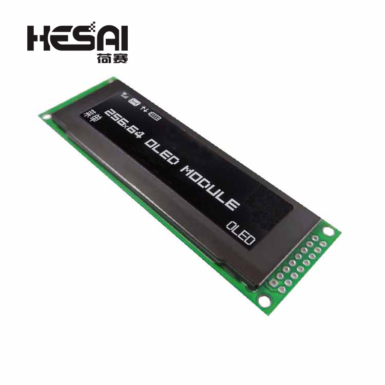2.8-Inch OLED Display 25664 LCD Screen Oled 256 * 64 Screen Module Controller Supports SPI