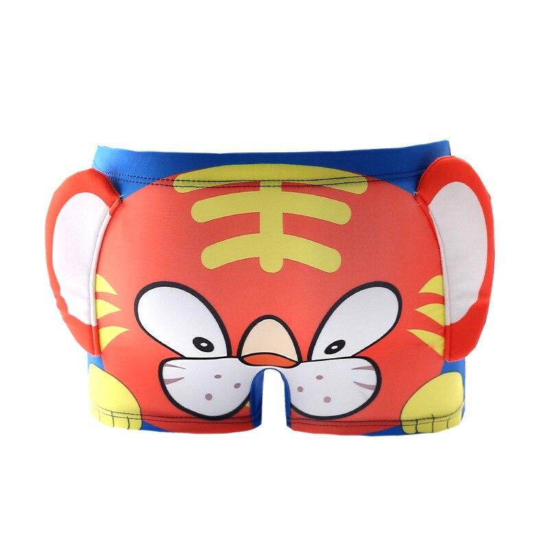 CHILDREN'S Swimming Trunks BOY'S Children Boxer Swimming Trunks Cartoon Stereo Pattern CHILDREN'S Baby Boy BABY'S Swimming Trunk