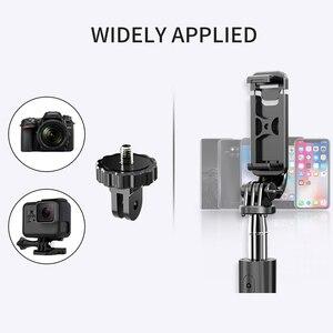 Image 4 - 4 In1 Bluetooth אלחוטי Selfie מקל חצובה מתקפל & Monopods אוניברסלי עבור טלפונים חכמים עבור Gopro פעולת ספורט מצלמות