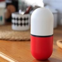 New Capsule Shape Air Humidifier Usb Mini Car Humidifier Portable Aromatic Oil Diffuser USB Humidifier|Humidifiers| |  -
