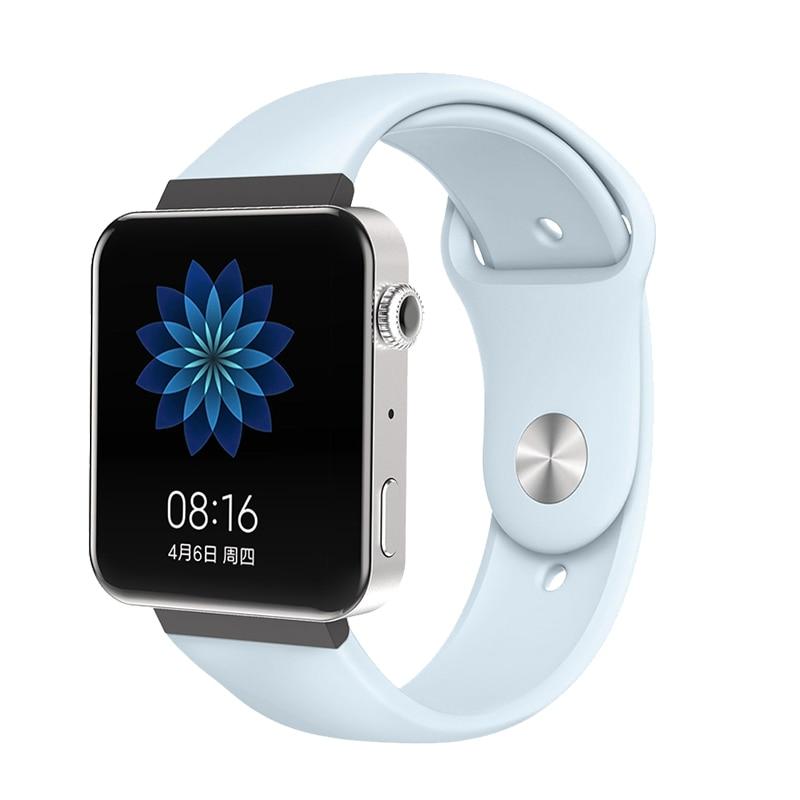 Мягкий силиконовый ремешок для часов для xiaomi smart watch, новинка, сменный ремешок для mi watch, резиновый ремешок для часов, аксессуары - Цвет: 8069