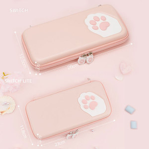 Image 2 - Nintendo SWITCH Case Cat Claw CPกระเป๋าNSซิลิโคนHard SHELLฝาครอบสำหรับNintendo SWITCH Liteเกมคอนโซลอุปกรณ์เสริม
