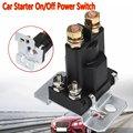 4 Pin 12V AMP 500A реле автомобильный стартер ВКЛ/ВЫКЛ Выключатель питания Двойной аккумулятор изолятор