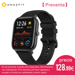 (Plaza)Global Version Huami amazfit GTS Apple smart watch appearence 1.65-inch AMOLED display and 220mAh battery life