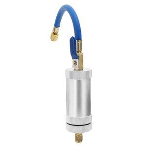 Image 2 - KKMOON colorant injecteur climatisation voiture huile injecteur R12 R134A R22 colorant Injection réfrigérant huile remplissage voiture accessoires