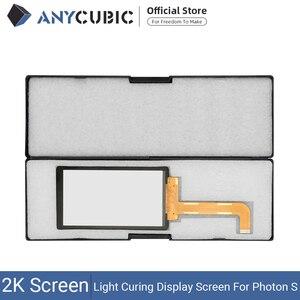 Image 1 - ANYCUBIC فوتون S 2K LCD ضوء علاج وحدة شاشة عرض 2560x1440 أجزاء أطقم Accecceries سطوع عالية