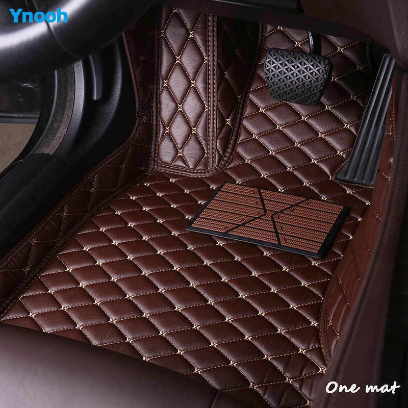 Автомобильный коврик Ynooh для nissan patrol y61 y62 qashqai j10 2011--2018 x trail t30 teana j32 primera p12 Мурано z51 almera автомобильные коврики