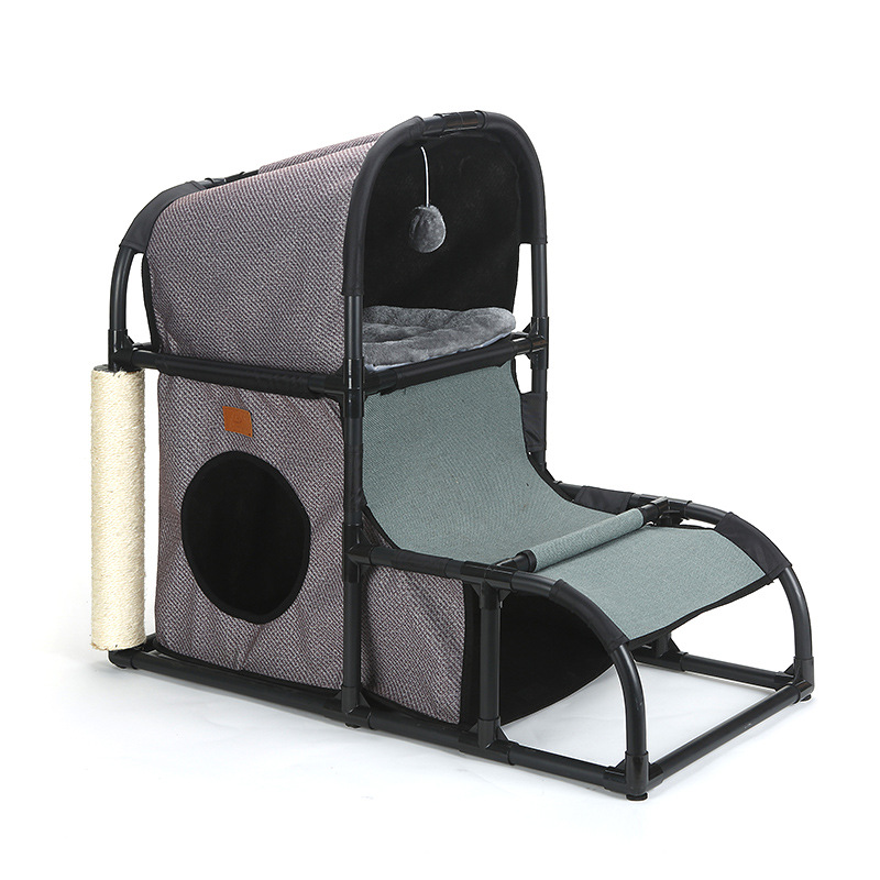 Cat climbing cat litter supplies jumping platform, multifunctional rack removable combination