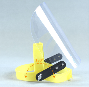 Image 5 - Proteção protetora do trato respiratório da máscara protetora da prova de poeira do respingo da saliva das viseiras sobresselentes da tela do protetor da máscara protetora da cara da segurança do pc