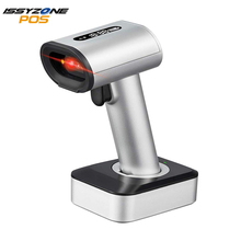 ISSYZONEPOS Barcode Scanner Wireless Wired 1D 2D Image Portable Bluetooth Scanner QR Barcode Reader Support Data Matrix PD-417 все цены