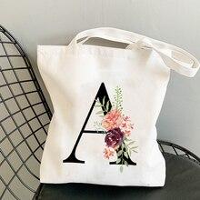 Canvas-Bags Handbag Bolsa Messenger-Bag Flower-Letter Shoulder Large-Capacity Summer