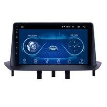 2 Din Автомобильный Радио Мультимедийный видео плеер навигация GPS для Renault Megane 3 Fluence Android автомобильный стерео головное устройство с рамкой WIFI