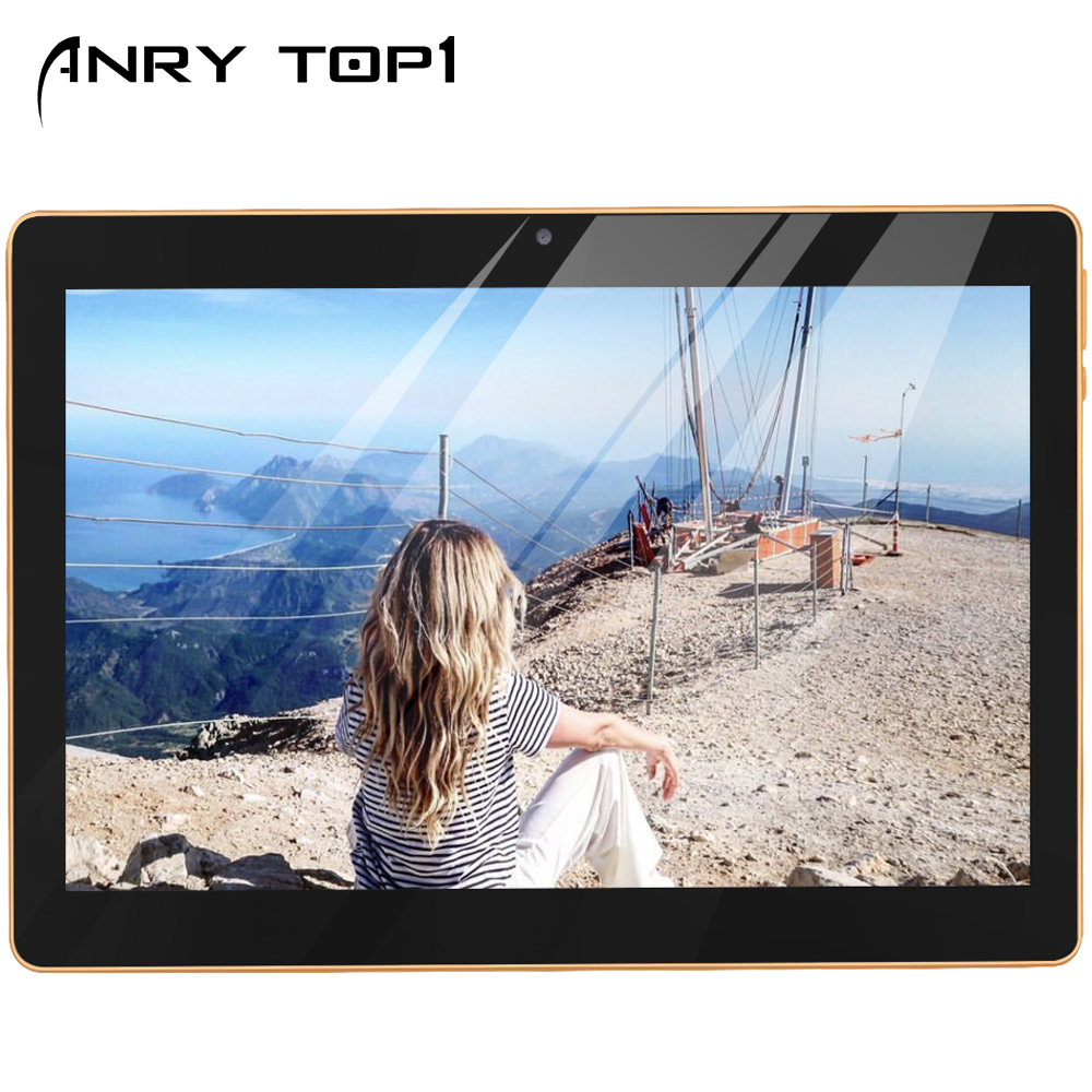 Android Tablet 10.1 Inch 4G Phablet Unlocked Tablet PC With Dual SIM Card Slots And Cameras 1280x800 IPS Octa Core 4GB +64GB