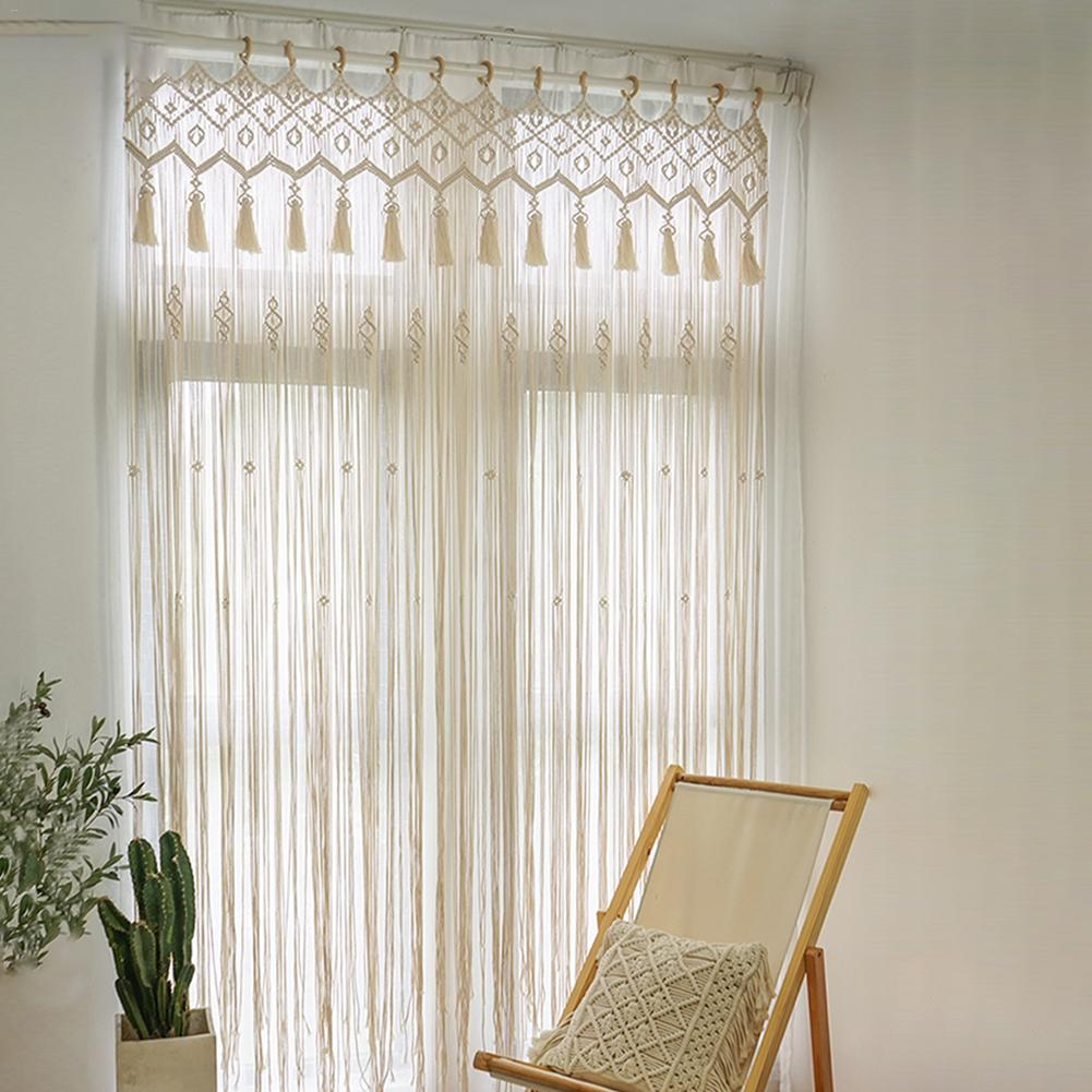 check MRP of macrame door curtains