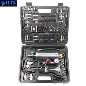 Image 2 - Kit de nettoyage et testeur dinjecteur de carburant sans démontage automobile avec étui pour voitures à essence EFI, réservoir 750ML, 145PSI