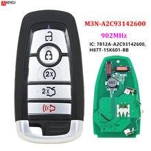 FCC ID: M3N-A2C93142600 5 przycisk inteligentny klucz zdalny FSK 902mhz ID49 dla Ford Edge Fusion 2017 2018 Expedition Explorer 2018 2019