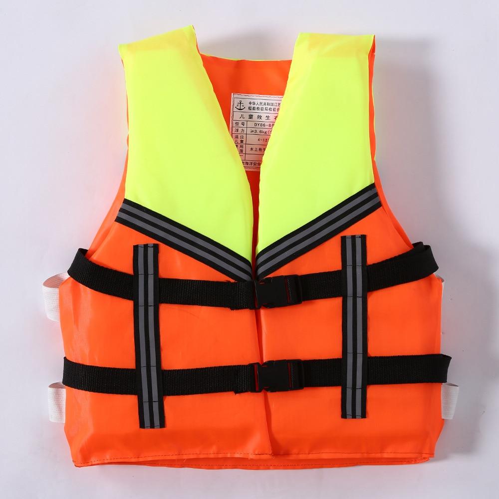 Child Universal Polyester Foam Flotation Swimming Boating Ski Safety Youth Kids Life Jacket Water Sport Professional Life Vest