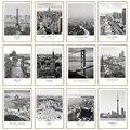 Черно-белая Картина на холсте пейзаж города мира Париж Лондон Нью-Йорк плакат принты в скандинавском стиле Настенная картина домашний деко...