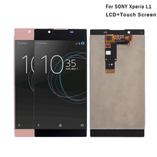 Para sony xperia l1 display lcd com digitador da tela de toque para sony xperia l1 g3312 tela lcd ferramentas gratuitas