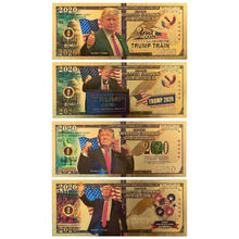Donald Trump Commemorative Coin President Banknote Non-currency Gold Banknotes Prop Money America Bank Notes Personalized Gift donald j young personal notes