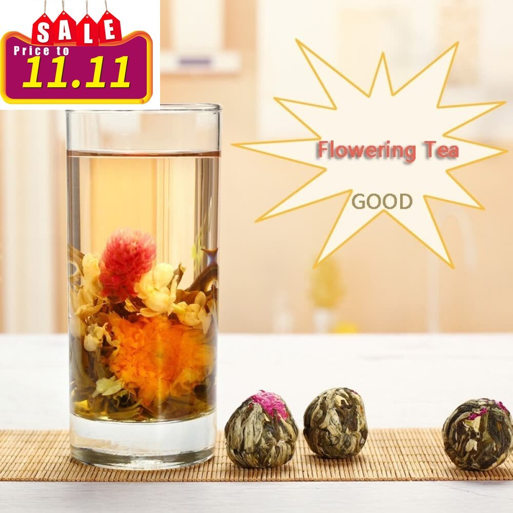 Flower Tea Craft Jasmine Dragon Pearl Double Dragon Opera Pearl Embroidered Ball Flower Tea 250 G Package