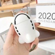 3D Case for AirPods 1 2 Cartoon Airplane Rocket Wireless Bluetooth Earphone Cover for AirPods Pro Soft Silicone Protective Cover 3d minions earphone case for airpods pro case cute soft silicone wireless for airpods pro case cover cartoon protective cover