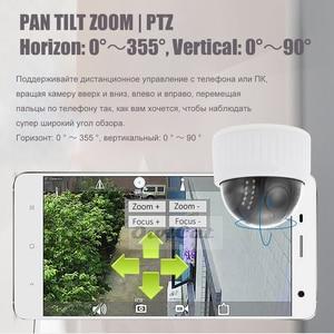 Image 3 - OwlCat 2MP 5MP HD 실내 와이파이 PTZ 돔 IP 카메라 5x 줌 무선 비디오 감시 CCTV 오디오 마이크 IR 밤 플래시 카드 Onvif