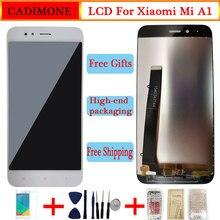 """ل شياو mi mi A1 شاشة الكريستال السائل شاشة 5.5 """"AAA جودة LCD مع الإطار 10 اللمس ل Xiao mi 5X/A1 LCD 1920*1080 القرار الجمعية"""