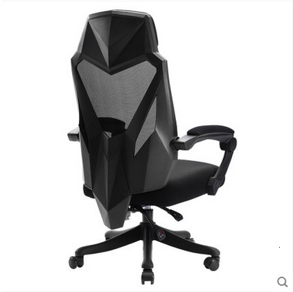 E1Black - And - White Adjustable Computer Chair Can Lie E - Race Chair Game Chair Swivel Chair Modern Simple Home Office Chair.