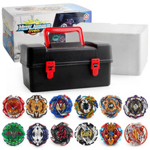 XD168-21 alloy burst battle gyro constellation gyro toolbox storage box gyro set suitcase xd168 11 burst gyro toy blast gyro pair battle disk arena b122 gyro series set