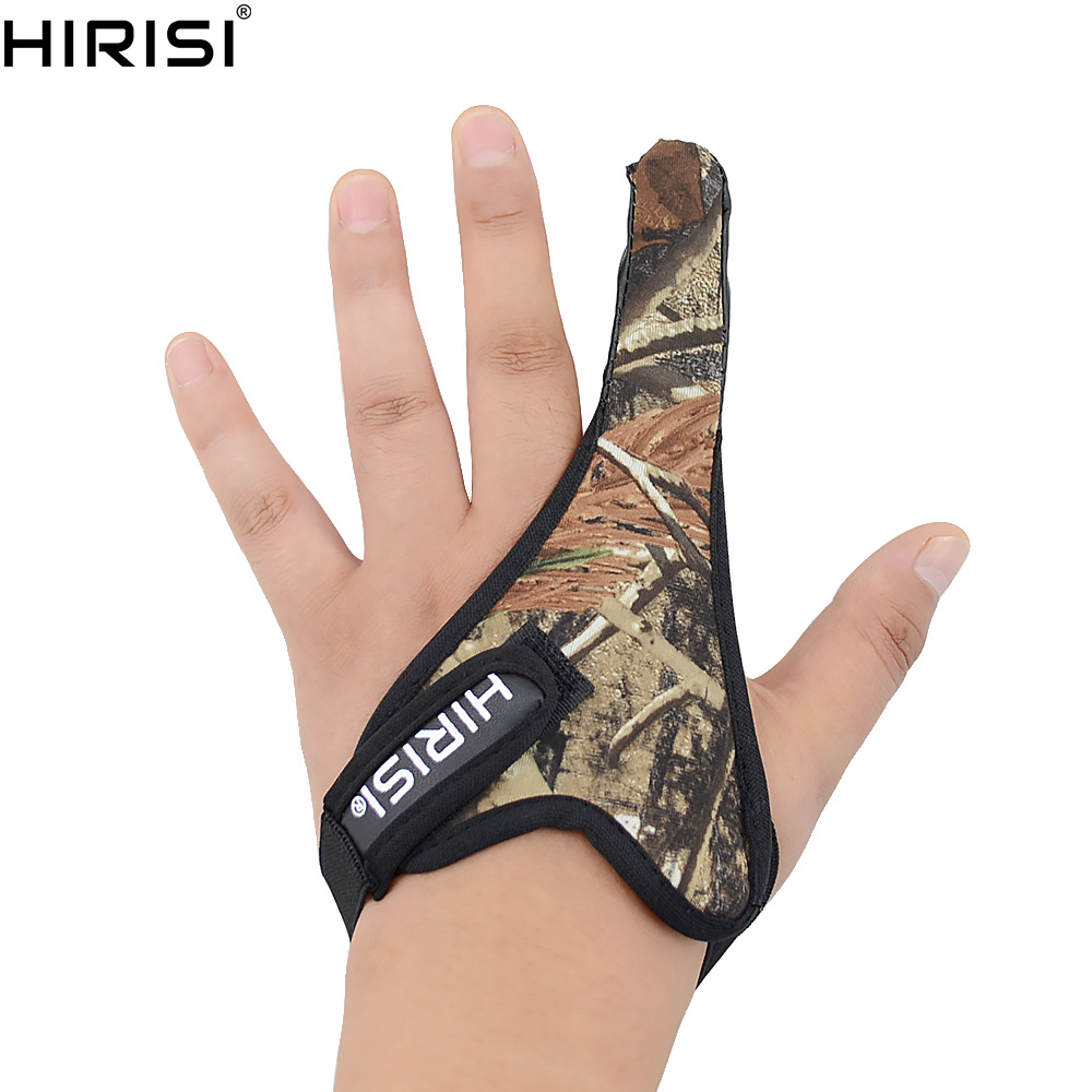 Carp Fishing  Anti-cut Casting Glove Finger Stall Protector Sea Fly Camouflage