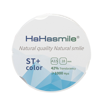 ST+Color 95mm Factory Price 16 Colors A3.5 Preshaded Zirconia Block For Dental Lab Dental Zirconio Zirconia Blocks