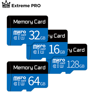 Micro SD Card 8GB 16GB 32GB 64GB 128GB Class10 Flash Memory Card MicroSD TF Card 32 gb flash drive micro sd 64 gb Free Adapter