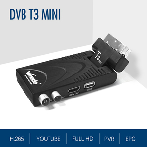 Image 4 - 2020ใหม่ล่าสุดDVB T2ดิจิตอลDVB T2 H.265 DecoderสนับสนุนYoutube USB WIFI DVB T2 Terrestrial Receiver Hotขายสเปน