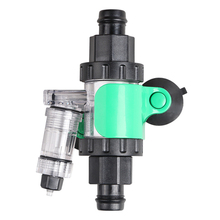 Aquarium External CO2 Diffuser DIY System Atomizer Reactor Kit Check Valve Bubble Counter for Fish Tank Water Plant Grass