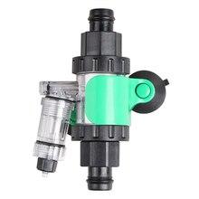 Bubble-Counter Reactor-Kit Atomizer Aquarium External-Co2-Diffuser Co2-System Check-Valve