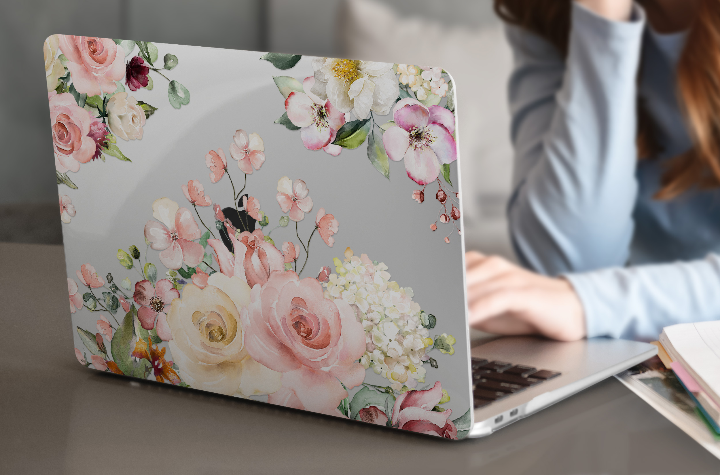 Matte Clear Painting Case for MacBook 24