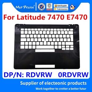 Новый оригинальный чехол для ноутбука с подставкой, верхняя крышка, чехол для клавиатуры, черный чехол для Dell Latitude 74270 E7470 RDVRW 0 RDVRW