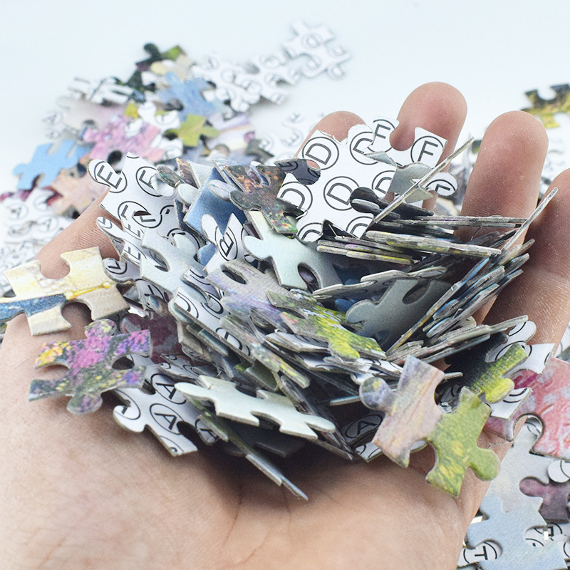 22 Styles New Jigsaw Puzzle 1000 Pieces For Adults Educational Game Toys Paper Adult Puzzles 5