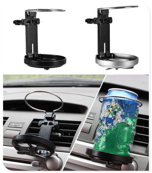 Car foldable drink rack out fan cup holder water coffee for BMW E46 E39 E38 E90 E60 E36 F30 F30 image