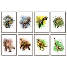 KamyYi5D – Peinture Diamant pour Bricolage, Broderie De dinosaures, Point De Croix, Décoration De Maison, Cadeau