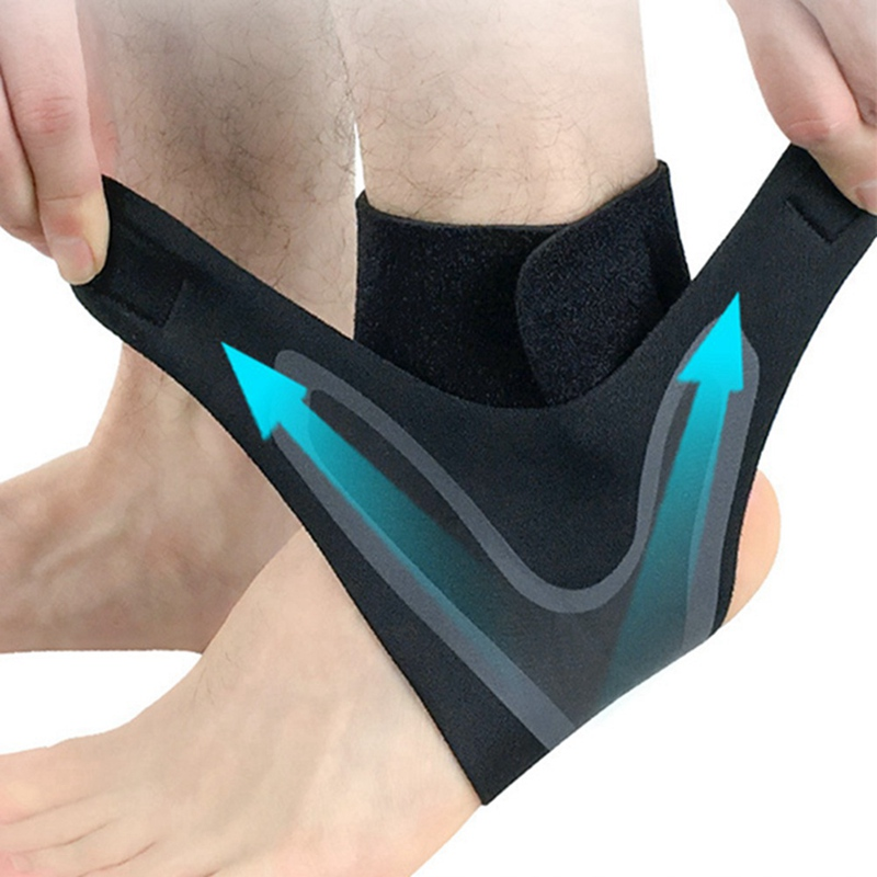 Adjustable Elastic Ankle Sleeve Elastic Ankle Brace Guard Foot Support Sports Ankle Support Weights Ankle Brace Support 1PCS
