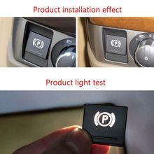 Автомобильный стояночный тормоз переключатель крышки Замена ручного тормоза P ключ переключатель For5 и 7 серии