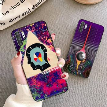 Psychedelic Tame Impala Phone Case For Samsung Galaxy Note20 ultra 7 8 9 10 Plus lite J7 J8 Plus 2018 Prime image