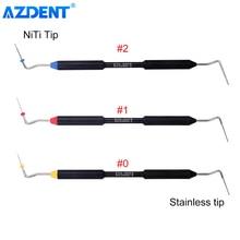Dental Endo Buchanan Hand Plugger Fill Instrument NITI Tip #0 #1 #2 Dentist Tools