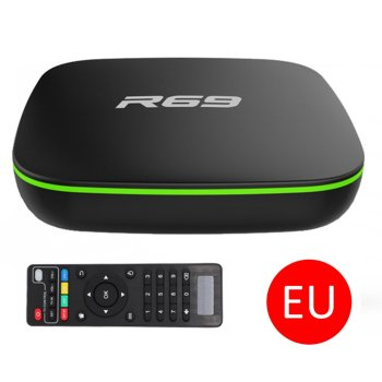 ONLENY Android 7.1 Smart TV Box 1GB 8GB Allwinner H3 Quad-Core 2.4GHz Wifi 802.11 b/g/n 4K Wireless HD Media Player