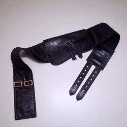 20190928001 2019 genuine leather luxury handbags women bag runway desigin female Europe brand top quality free shipping of dhl